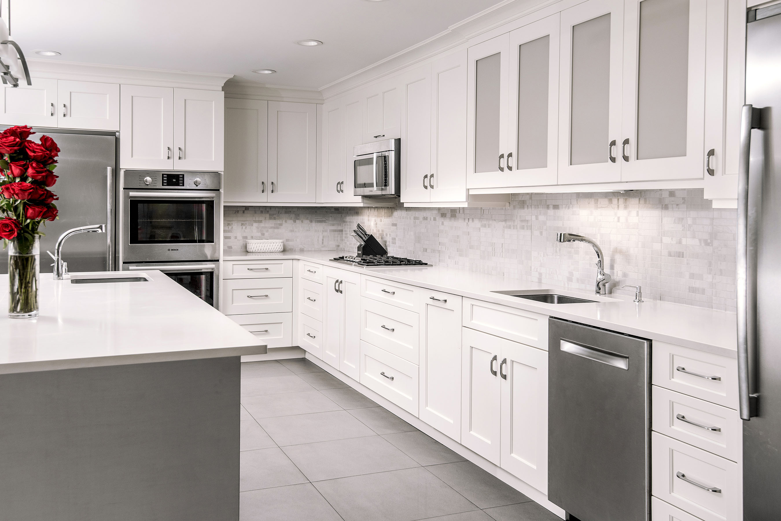 This Kitchen Lends Itself To A Modern Design, Yet Can Work With Traditional  Styles As