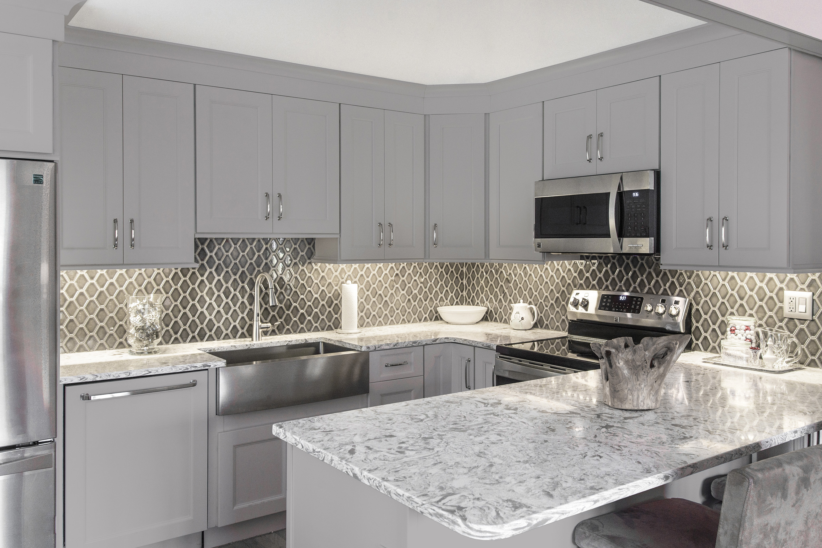 Kitchen cabinets and beyond anaheim reviews - Create An Elegant And Cohesive D Cor By Matching The Appliances With The Cabinets