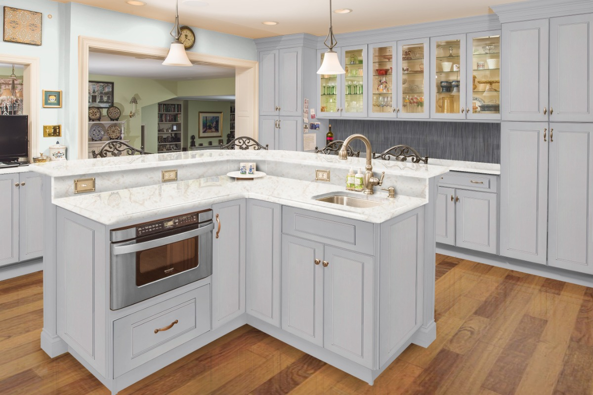 Kitchen cabinets and beyond anaheim reviews - This Kitchen Features A Central Island And Its Open Design Makes It The Perfect Place For